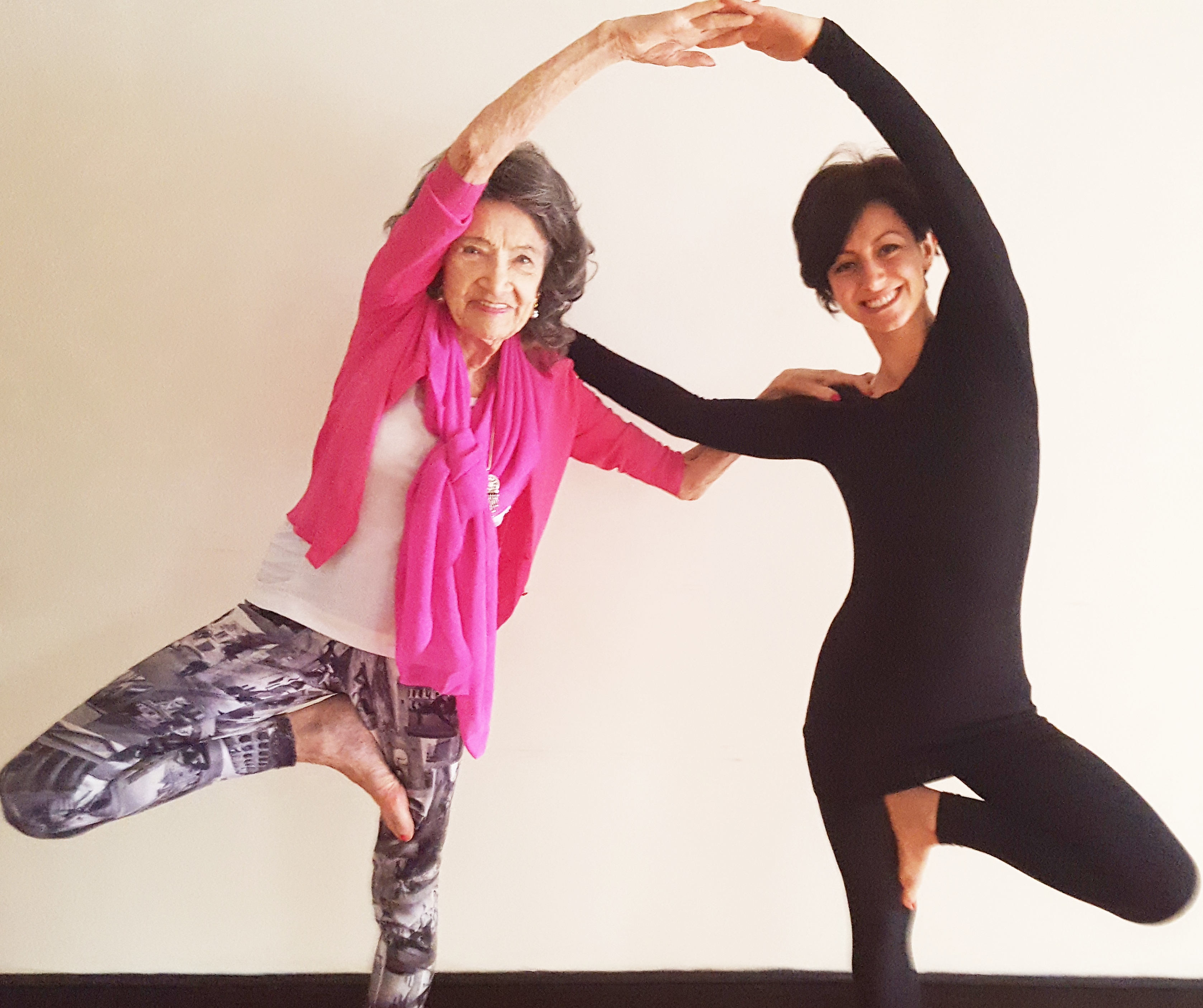 The Day I Met Tao Porchon Lynch Yoga With Gandha